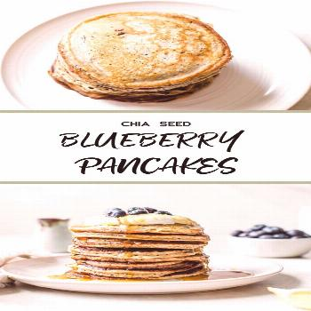Blueberry Chia Seed Pancakes These Blueberry Chia Seed Pancakes couldn't be simpler! Made with wh