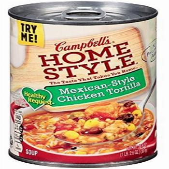 Campbells, Homestyle, Healthy Request, Mexican-Style