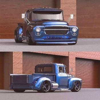 Girls & Chevy Malibus    What's better than a classic pickup truck? How about a custom pickup tru