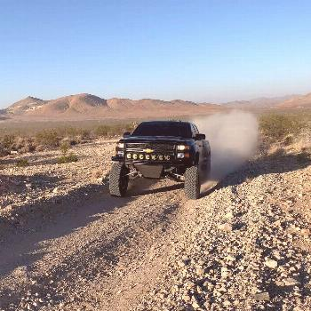 Lifted Chevy truck - Silverado Prerunner With a long travel suspension Today we're taking an in-d