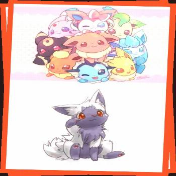 PokXperto  On Twitter OMG CHIBI EEVEELUTIONS THEY ARE SO CUTE WHAT IF YOU SAW THEM ON THE SIDE OF T