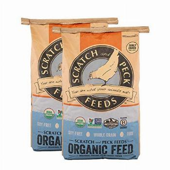 Scratch and Peck Feeds Naturally Free Organic Chicken Feed