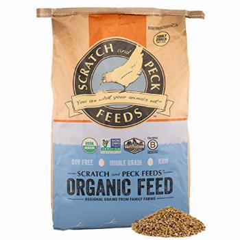 Scratch and Peck Naturally Free Organic Grower Chicken Feed