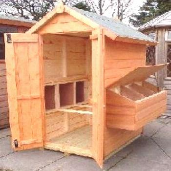 Simple And Easy Backyard Chicken Coop Plans (11)