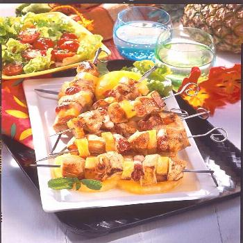 Turkey Skewers Hawaii Recipe   DELICIOUS -  Our popular Hawaii skewer recipe and over 55,000 other