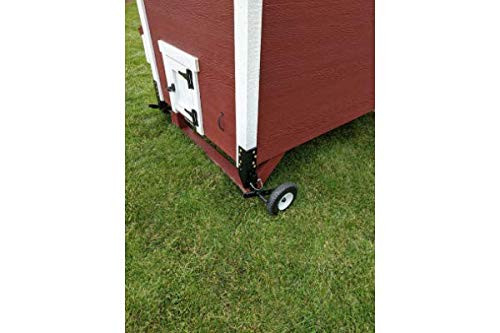 OverEZ Portable Chicken Coop Wheels - Poultry Coop House