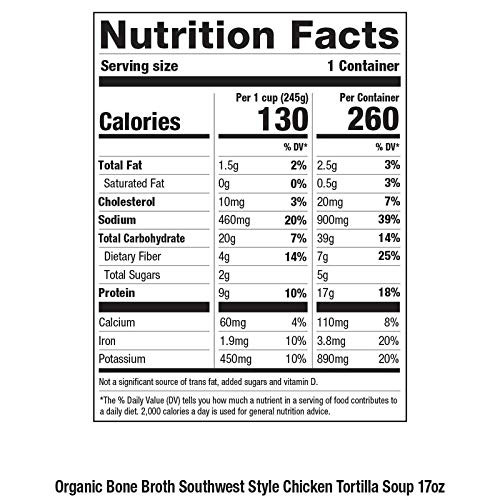Pacific Foods Organic Southwest Style Chicken Tortilla Soup